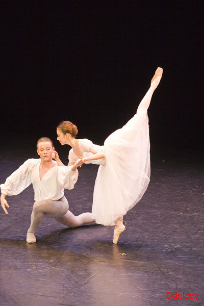 Jo Bailleux danse classique scène